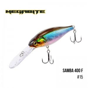 Воблер Megabite Samba 400 F 15