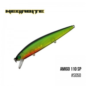 Воблер Megabite Amigo 110 SP S050