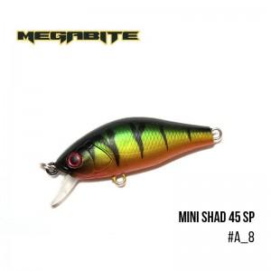 Воблер Megabite Mini Shad 45 SP A_8