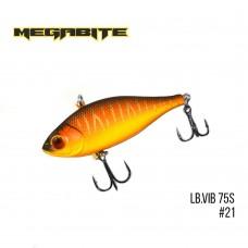 Воблер Megabite LB VIB 75 S Sinking 21