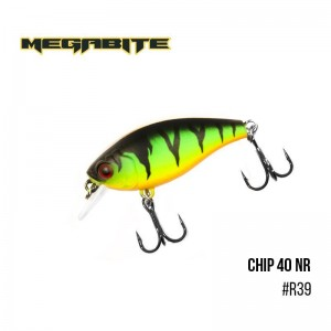 Воблер Megabite Chip 40 F MR R39