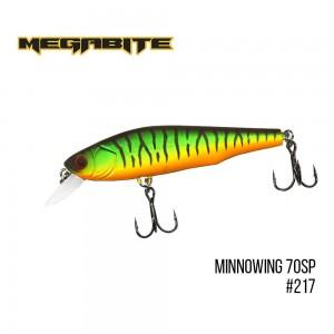 Воблер Megabite Minnowing 70 SP 217
