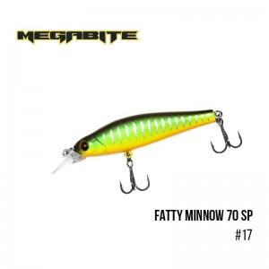 Воблер Megabite Fatty Minnow 70 SP 17