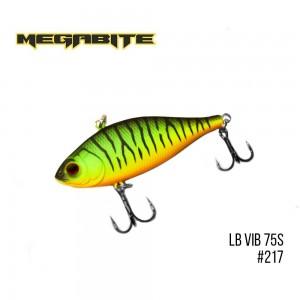 Воблер Megabite LB VIB 75 S Sinking 217