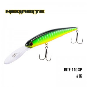 Воблер Megabite Bite 110 SP 16