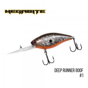 Воблер Megabite Deep Runner 800 F 1