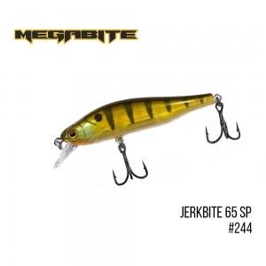Воблер Megabite Jerkbite 65 SP 244