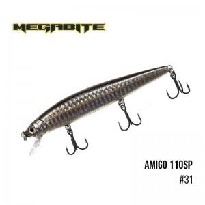 Воблер Megabite Amigo 110 SP 31