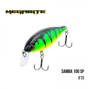 Воблер Megabite Samba 100 SP 19