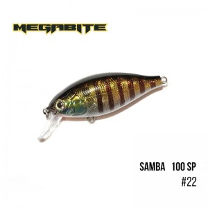 Воблер Megabite Samba 100 SP 22