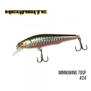 Воблер Megabite Minnowing 70 SP 24