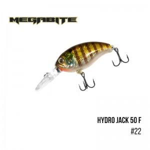 Воблер Megabite Hydro Jack 50 F 22