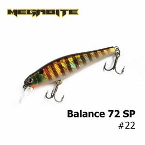 Воблер Megabite Balance 72 SP 22