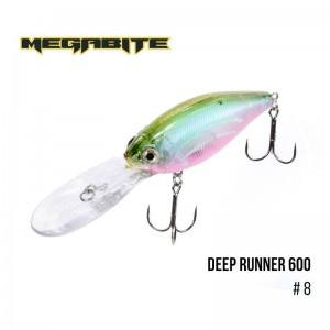 Воблер Megabite Deep Runner 600 F 8