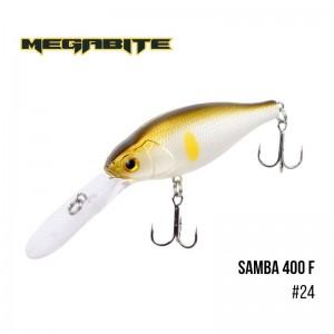 Воблер Megabite Samba 400 F 24