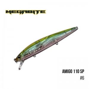 Воблер Megabite Amigo 110 SP 6