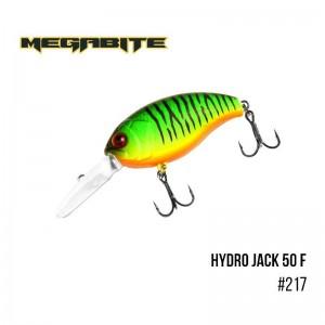 Воблер Megabite Hydro Jack 50 F 217