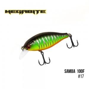 Воблер Megabite Samba 100 F 17