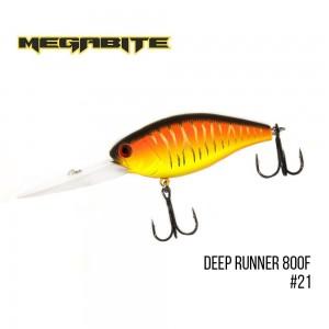 Воблер Megabite Deep Runner 800 F 21