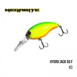 Воблер Megabite Hydro Jack 50 F 3