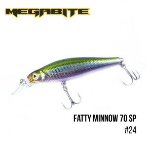 Воблер Megabite Fatty Minnow 70 SP 24