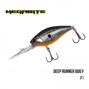 Воблер Megabite Deep Runner 600 F 1