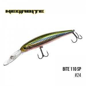 Воблер Megabite Bite 110 SP 24