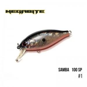 Воблер Megabite Samba 100 SP 1