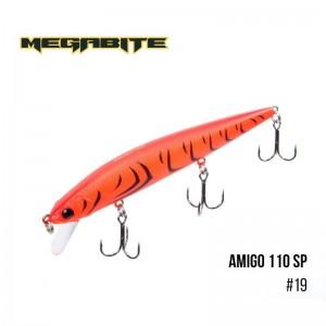Воблер Megabite Amigo 110 SP 19