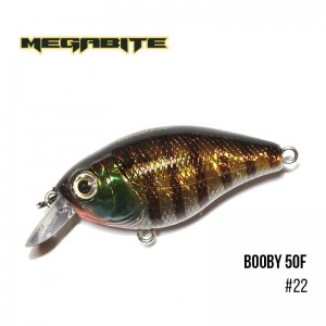 Воблер Megabite Booby 50 F 22