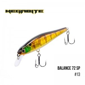 Воблер Megabite Balance 72 SP 13