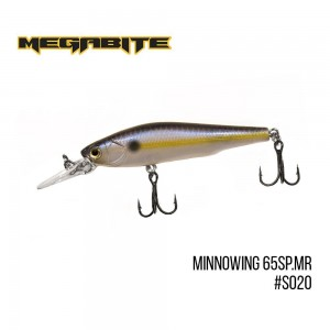 Воблер Megabite Minnowing 65 SP MR S020