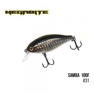 Воблер Megabite Samba 100 F 31