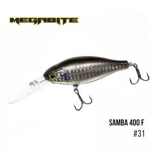 Воблер Megabite Samba 400 F 31