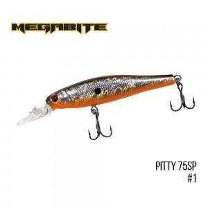 Воблер Megabite Pitty 75 SP 1