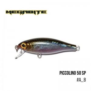 Воблер Megabite Piccolino 50 SP A_8