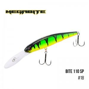 Воблер Megabite Bite 110 SP 18