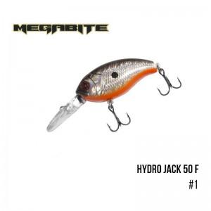 Воблер Megabite Hydro Jack 50 F 1