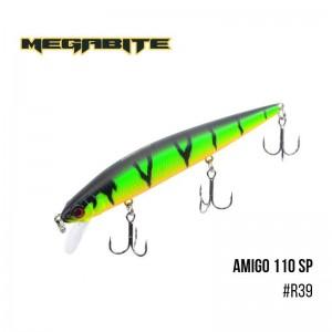 Воблер Megabite Amigo 110 SP R39