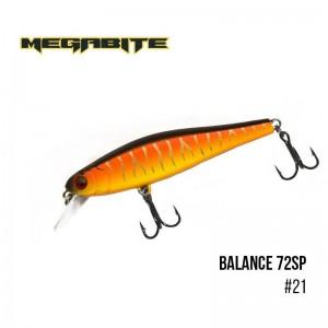 Воблер Megabite Balance 72 SP 21
