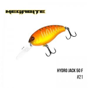 Воблер Megabite Hydro Jack 50 F 21