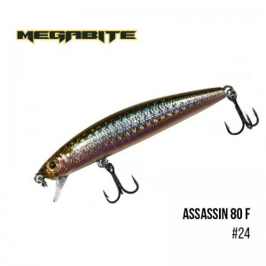 Воблер Megabite Assassin 80 F 24