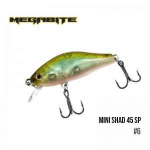 Воблер Megabite Mini Shad 45 SP 6