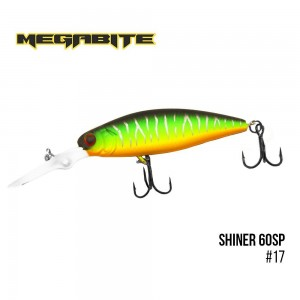 Воблер Megabite Shiner 60 SP 17