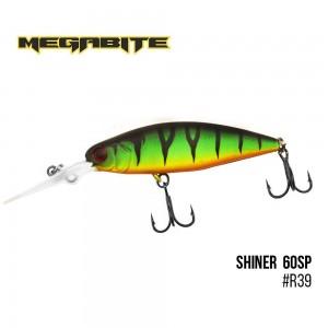 Воблер Megabite Shiner 60 SP R39