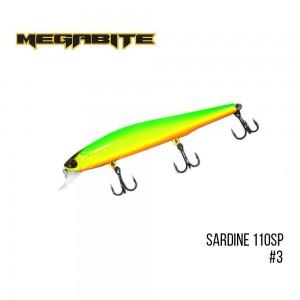 Воблер Megabite Sardine 110SP 3