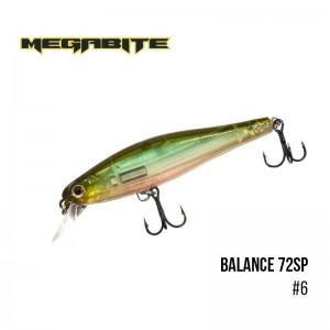 Воблер Megabite Balance 72 SP 6
