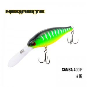 Воблер Megabite Samba 400 F 16