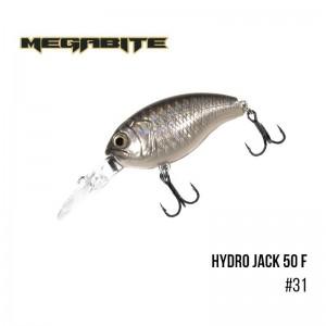 Воблер Megabite Hydro Jack 50 F 31