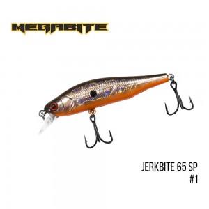 Воблер Megabite Jerkbite 65 SP 1